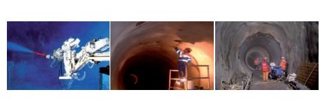 Хидроизолационните дейности в тесните тунели на метрото в Лозана, където буквално всеки милиметър е бил от значение.