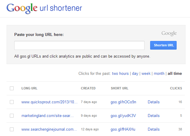 Google_URL_Shortener