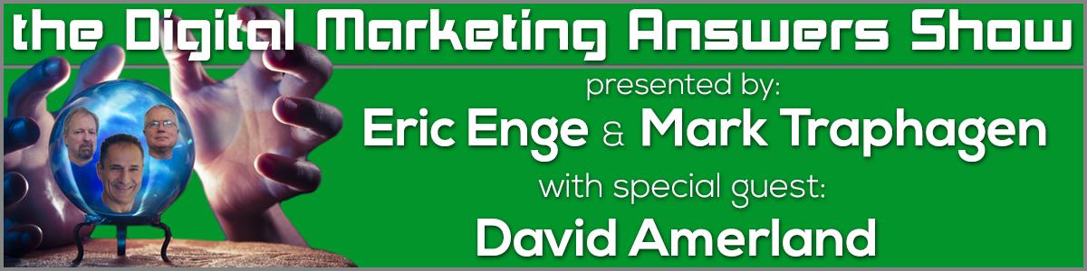 Digital Marketing Answers show Jan 21 2014
