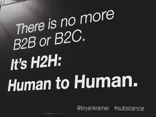 Human to Human not B2B