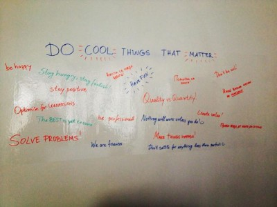 1Do cool thing - AdAcademy Manova