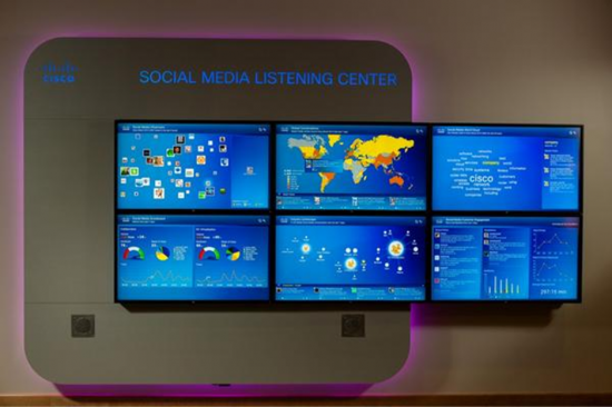 Cisco social media listening centre