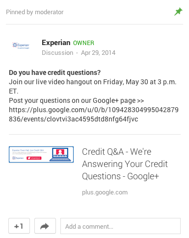 Google+-Community-Engagement