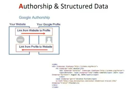 authorship structures dataa