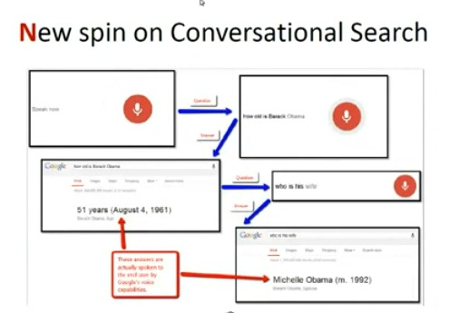 conversational search